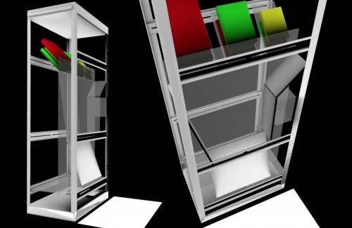 Biblio-Mat 3D simulation