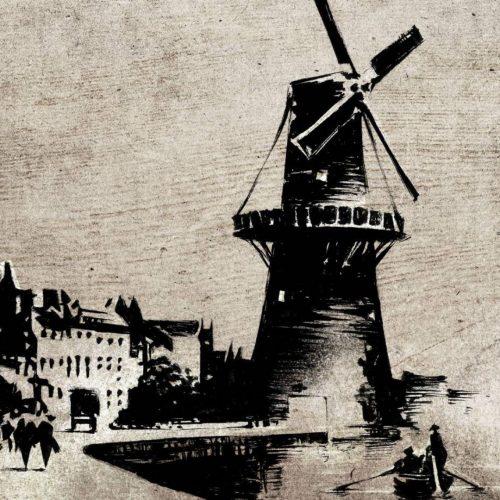 Canal in Schiedam