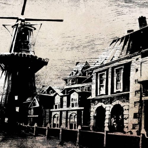 Windmill in Schiedam