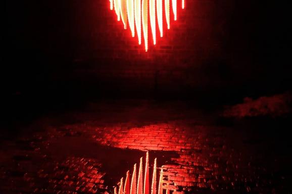 Edge-Lit Heart